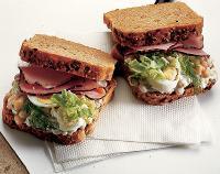 Slunečnicový sendvič