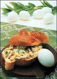 Jednoduchá pomazánka s vejci