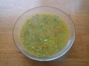 Výtečná polévka téměř z ničeho :)