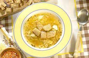 0338 - Česneková polévka