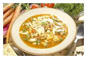 0186 - Minestrone (italská zeleninová polévka)
