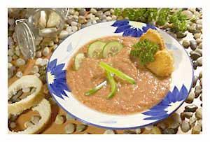 0194 - Studená polévka Gazpacho
