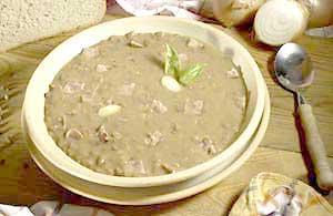 0568 - Čočková polévka se slaninou