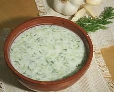 Okurková polévka