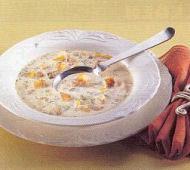 Rybí polévka s česnekem