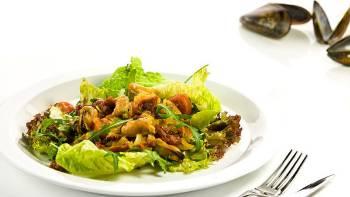 Salát z mražených slávek