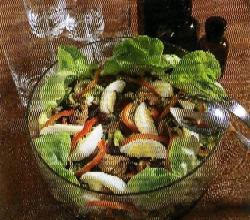 Fazolovo-tuňákový salát