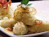 Chlupaté bramborové knedlíky