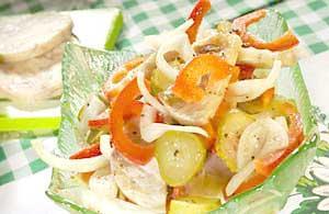 Pikantní tlačenkový salát
