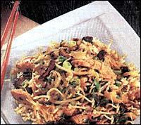 Kuřecí nudličky s rýží