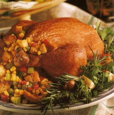 Kuře s pikantní nádivkou