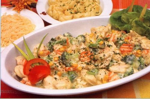 Kuřecí ragú na smetaně se zeleninou