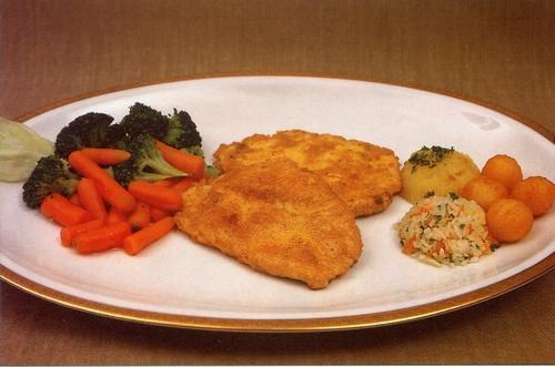 Marinované kuřecí řízky s Baby mrkvičkou a brokolicí
