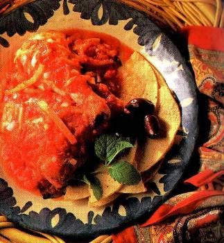 Kuře s paprikovou omáčkou