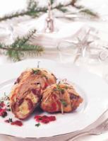 Vánoční balíčky se sušenými brusinkami