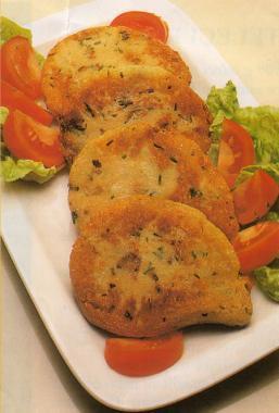 Kotlety v bramborovém těstě
