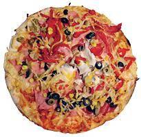 Šunková pizza s Mozzarellou