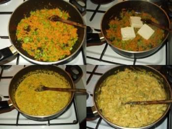 Těstoviny s mrkví