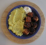 Krokety z květáku a brambor