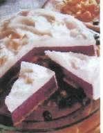 Borůvkový dort s Ricottou