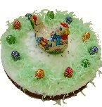 Velikonoční dort Hnízdo