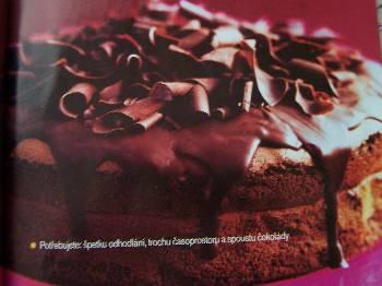 Výborný čokoládový dort