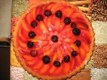 Ovocný koláč s želatinou
